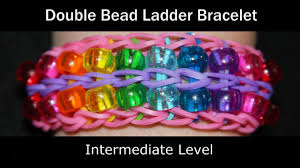 rainbow loom double bead ladder bracelet youtube