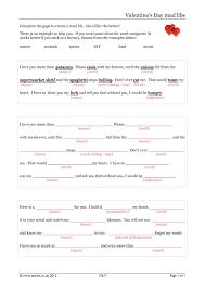 Halloween Mad Libs Printable Free by Ks4 Word Games Teachit English