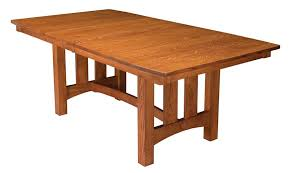 country shaker trestle table
