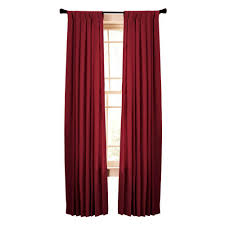 Tab Top Curtains Blackout Red Curtains U0026 Drapes Window Treatments The Home Depot