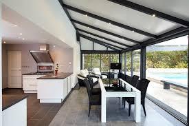 cuisine a vivre veranda extension cuisine trendy maison veranda avignon couvre