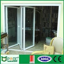 Aluminium Folding Patio Doors China 2016 New Design Aluminum Exterior Bifold Door Aluminium