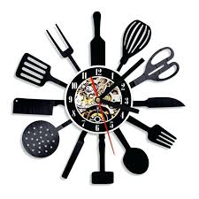 montre cuisine montre de cuisine bricolage horloges murales cafac tasse mode
