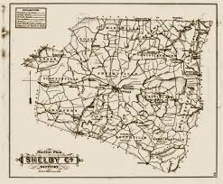 Ky County Map 1882 Atlas Henry U0026 Shelby Co Kentucky