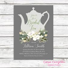 bridal tea party christmas bridal shower invitation bridal tea invitation tea