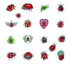 ladybug only in pink tattoos ladybug