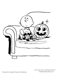 page free great pumpkin coloring pages pumpkin brown