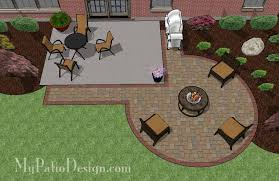Patio Plans And Designs Diy Circle Patio Addition Design With Grill Pad 240 Sq Ft