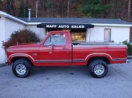 1985 ford f150 extended cab buy used 1985 ford f 150 xlt lariat 4x4 in eagle rock virginia