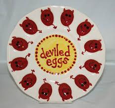deviled egg plates deviled egg plate devils 25 00 via etsy