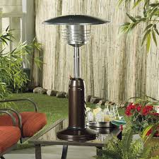 Living Flame Patio Heater by Az Patio Heater Stainless Steel Glass Tube Tabletop Heater Hayneedle