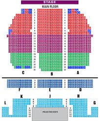 fox theater floor plan seating visalia fox theatre
