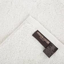 buy roberto cavalli gold towel ivory amara