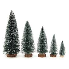 new 1pcs mini artificial tree miniatures toys
