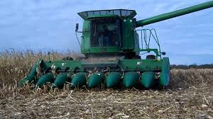1995 john deere 893 corn head youtube