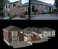 design contest chief architect blog home design addition including a family room screened porch and large dining room while