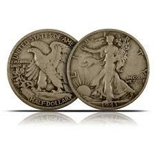 buy 90 silver coins walking liberty half dollars 1 value