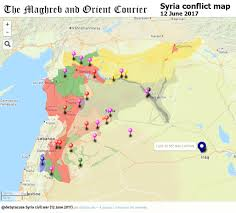syria on map urgent syria interactive conflict map 12 june 2017 the