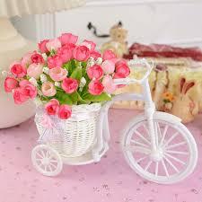 plastic flowers for decoration decorative flowers