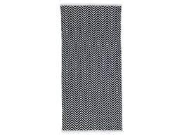 tapis de cuisine conforama carpette 60x115 cm zig vente de tapis conforama noir et blanc