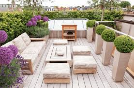 Pedestal Pots Outdoor Gray Daybeds With Wood Flooring Also Pedestal Round Pots