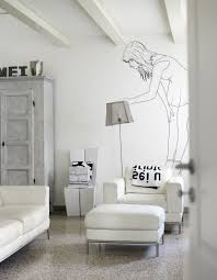 black on white how to decorate with wall decals pixersize com curiosity wall decal by pixers