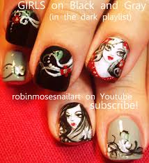 robin moses nail art september 2012