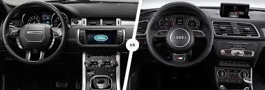 lexus vs audi q3 range rover evoque vs audi q3 stylish suv battle carwow