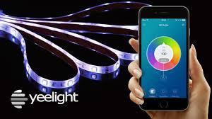 Wireless Led Strip Lights by Yeelight Lightstrips Smart Led Light Strips Youtube