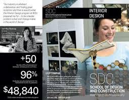 interior design school of design construction washington consider interior design id brochure front