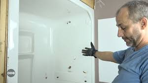 how to remove an acrylic shower stall youtube