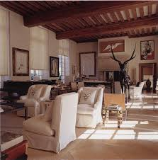 bohemian style living room fro british designer anouska hempel hubert de givenchy the atelier at the chateau du jonchet from the french book vintage interiorsmodern interiorshome