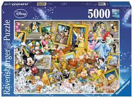 puzzle 5000pc disney favourite friends