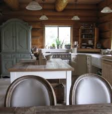 Features Every Log Home Should Have Incredible Kitchen Too - Interior paint colors for log homes