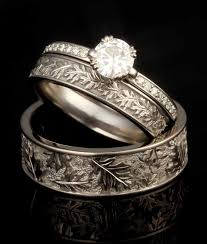 carved bridal best 25 leaf wedding band ideas on pretty rings leaf