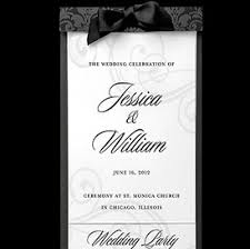 blank wedding program templates wedding templates