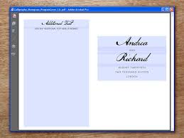 how to make your own wedding programs stunning make your own wedding programs photos styles ideas