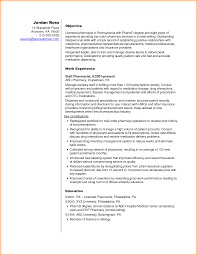 Sample Resume Objectives For Biology Majors by Objective Pharmacy Resume Objective