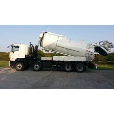 2010 hino 700 vacum tanker jet combination unit