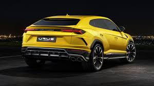 lamborghini engine in car 2018 lamborghini urus unveiled car design news