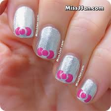 missjjan u0027s beauty blog tutorial very easy bow nail art