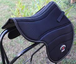 horse trail english half saddle pad anti slip neoprene memory foam