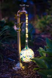 diy waterdrop solar lights solar lights solar and globe