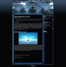 halo wars blogger template game blogger template skincorner