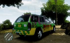 jurassic park tour car gta gaming archive
