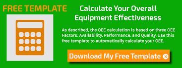 calculating overall equipment effectiveness oee free template