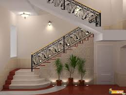 Staircase Decorating Ideas Stair Charming Half Turn Staircase Decorating Design Ideas With