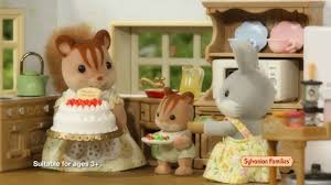 sylvanian families beechwood hall and cosy cottage youtube