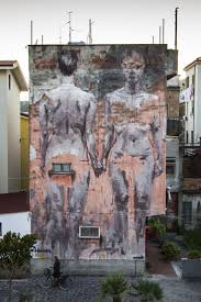 2031 best street art images on pinterest urban art street borondo is still in sapri where he just finished working on that massive mural in town for the otre il muro festival the young spanish artist painted this