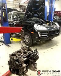 porsche cayenne engine swap fifth gear automotive